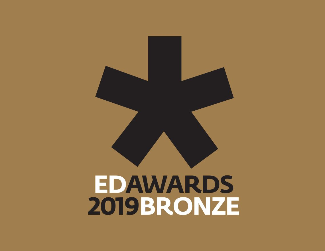 Knops in de prijzen op de European Design Awards 2019